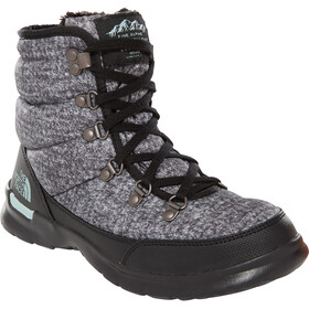 The North Face Thermoball Lace II Chaussures Femme, burnished houndstooth print/blue haze